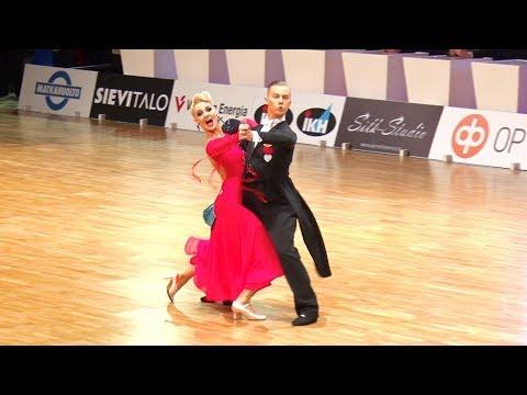 Evaldas Sodeika - Ieva Zukauskaite LTU   Finnish Open 2018   T