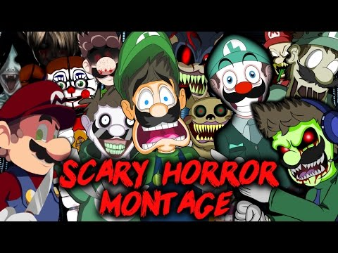 LUIGIKID - SCARY HORROR GAME MONTAGE [HALLOWEEN 2016 SPECIAL]