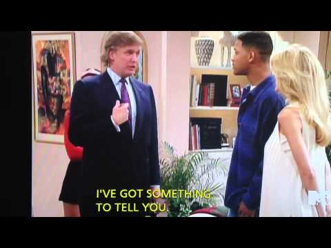 Donald Trump shut up (The Fresh Prince of Bel-Air) - YouTube