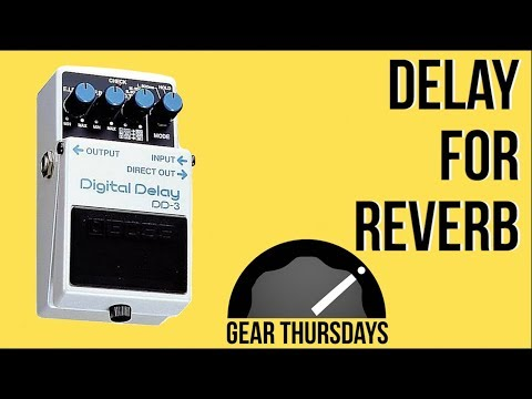 Delay Pedal Tips For Your Guitar Tone (Marty Music Thursday Gear)