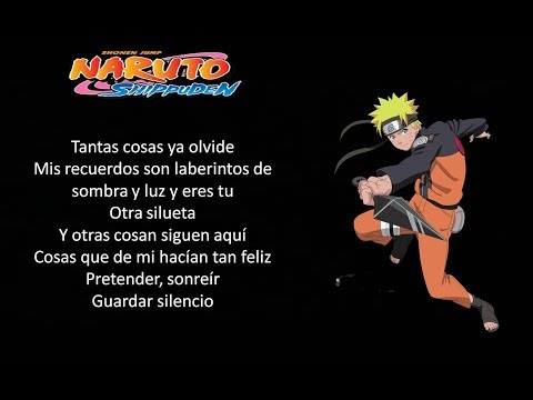 Naruto Shippuden - Silhouette - (Opening 16 Full Latino)(By: Inheres) - (Letra)