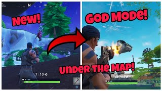 Fortnite Glitches Season 5 (New) Under The Map God Mode Glitch PS4/Xbox one 2018