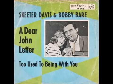 Skeeter Davis & Bobby Bare - A Dear John Letter 1965 HQ