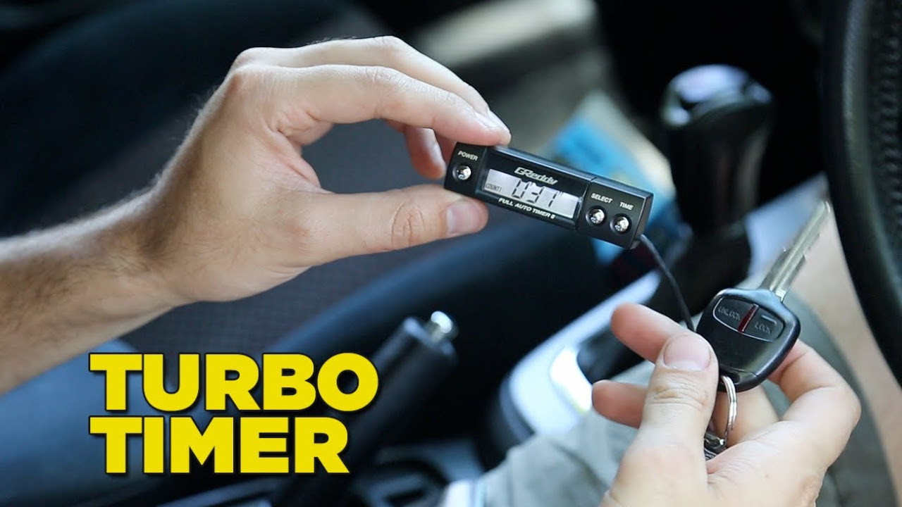Install a Turbo Timer - YouTube