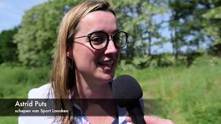 Sportcomplex Sportoase Montaignehof Lanaken - LRL interview Astrid Puts