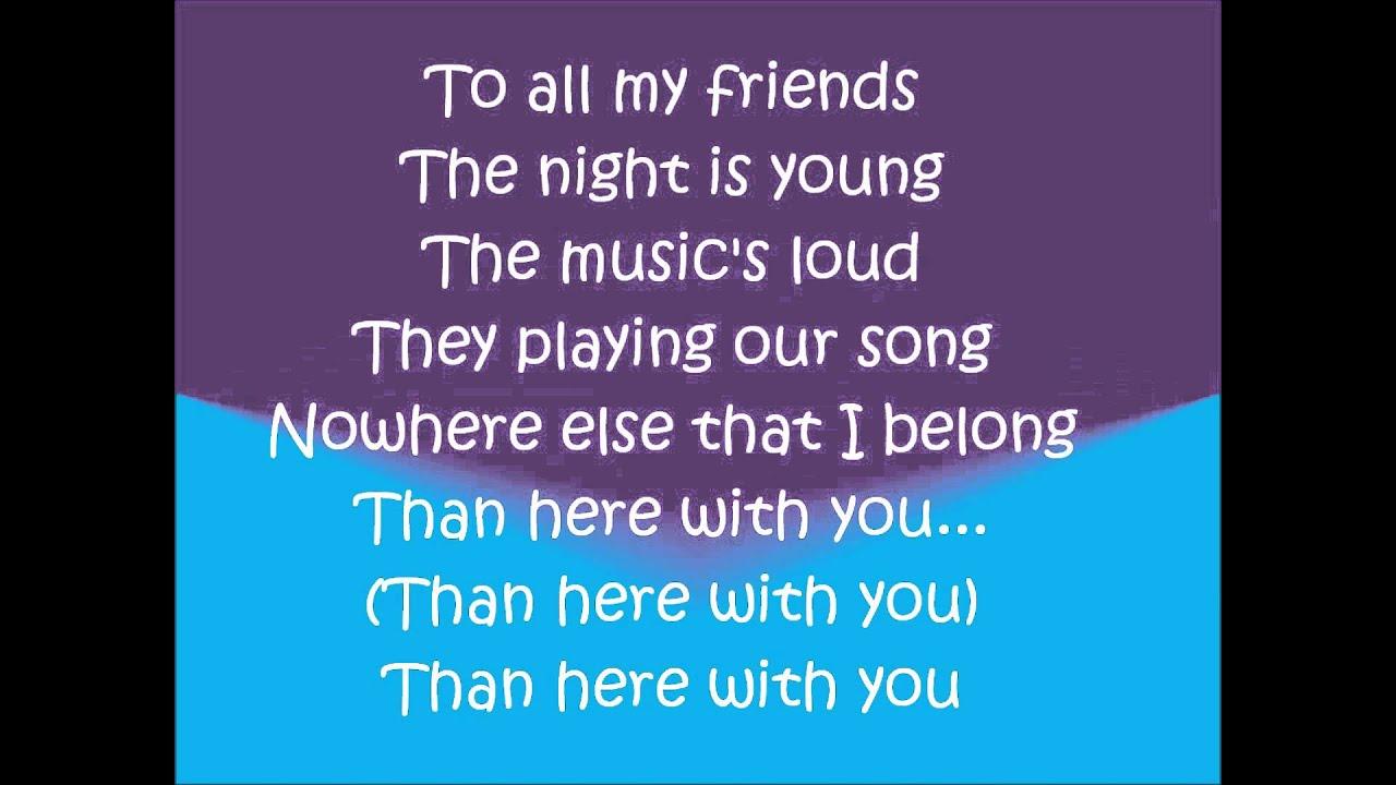 Here With You Lyrics- Asher Monroe - YouTube