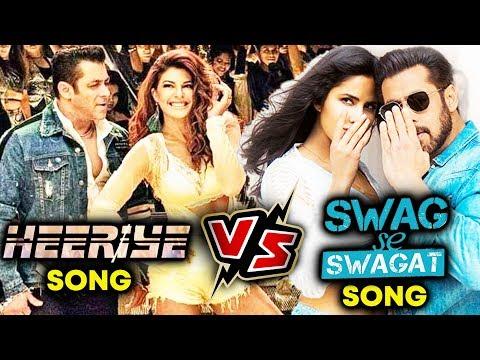 Heeriye Vs Swag Se Swagat | Race 3 | Tiger Zinda Hai | Salman Khan, Jacqueline, Katrina Kaif