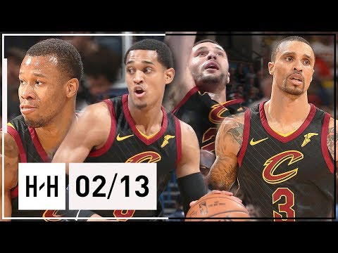 Cavaliers NEW Players Full Highlights vs Thunder (2018.02.13) - Clarkson, Hill, Hood & Nance Jr.!