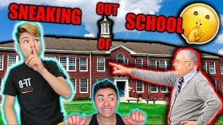 Sneaking JACK DOHERTY out of School ... CAUGHT?!
