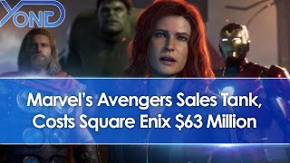 Marvel's Avengers Sales Tank, Only Sells 3 Million, Costs Square Enix $63 Million