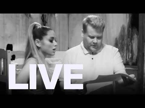 Ariana Grande, James Corden Visit Haunted Escape Room | ET Canada LIVE Mp3