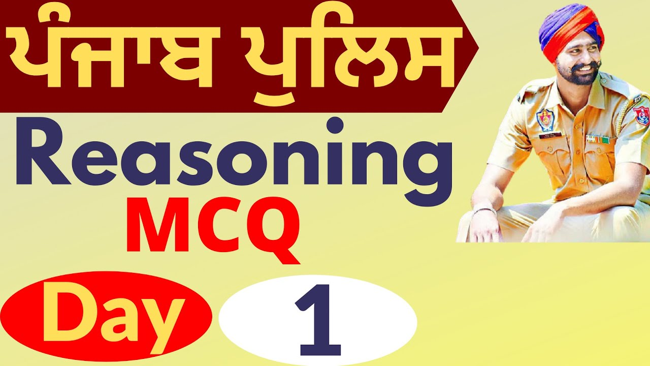 Download Reasoning for Punjab Government Exam in Punjabi by Garish Sir   Reasoning for Punjab Government