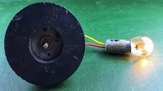 New Electric 2019 Free Energy Generator 100% Self Running With Charging Mobile | DIY Science Project