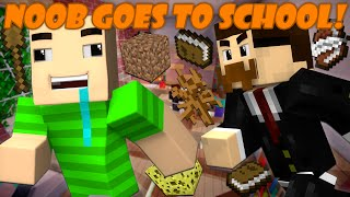 If a Noob went to School - Minecraft