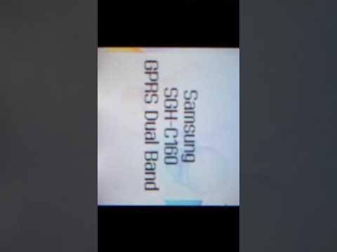 Samsung SGH-160 Start up/shut down