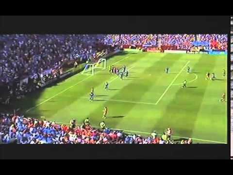 Goal David Villa - Spain vs El Salvador 2-0