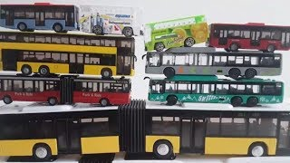Siku Bus Play and review toy Buses and articulated Bus