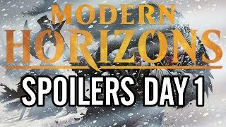 Mtg: Modern Horizons Spoilers Day 1 - Force of Negation, Prismatic Vista and More!