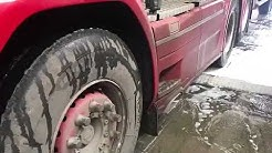 Dutch Scania V8 R580 Non Contact Washing with ProNano Products