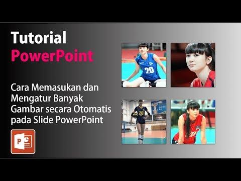 Cara Memasukkan dan Mengatur Banyak Gambar Sekaligus pada Slide PowerPoint
