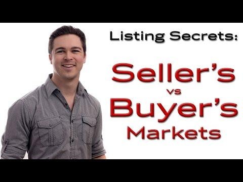 Listing Secrets- Sellers vs Buyers Market - Northwest Arkansas Real Estate
