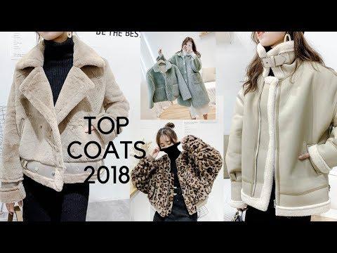 Top Mẫu áo Khoác Lông Nữ 2018 | TOP WINTER COATS 2018