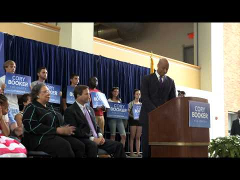 Cory Booker On His Priorities For New Jersey In The US Senate