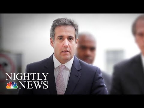 Michael Cohen Used President Trump Company Email In Stormy Daniels Arrangements | NBC Nightly News