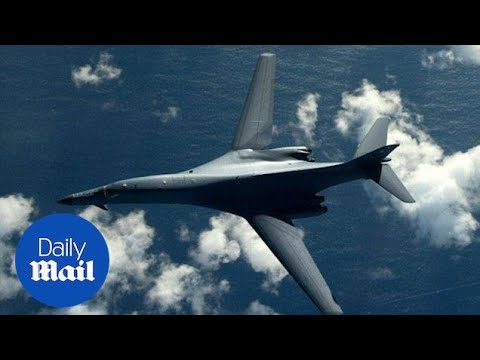 U.S. bombers fly over Korea after North Korea missile test - Daily Mail