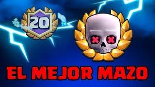 EL MEJOR MAZO DEL TORNEO MUNDIAL DE MUERTE SÚBITA! 20 VICTORIAS SIN PERDER!  Clash Royale en español