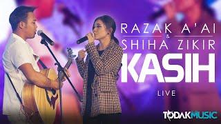 RAZAK A'AI & SHIHA ZIKIR - KASIH | LIVE@TODAKXBIGO2019