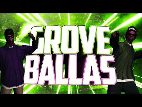ПЕРЕСТРЕЛКА BALLAS Vs GROVE | SAMP | TRINITY RP