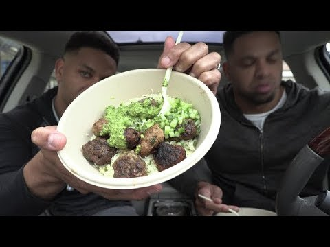 Eating Cava Grill @hodgetwins
