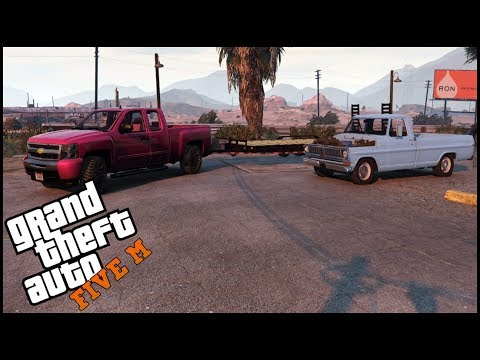GTA 5 ROLEPLAY - FORD F100 SLAM IT PROJECT  - EP. 419 - CIV