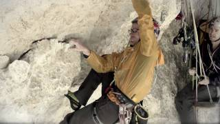Amazing 8c+ mountain climb - Panaroma Expedition, Pou Brothers