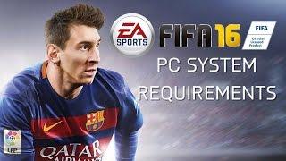 FIFA 16 - PC System Requirements | System Voraussetzungen [Deutsch / HD]
