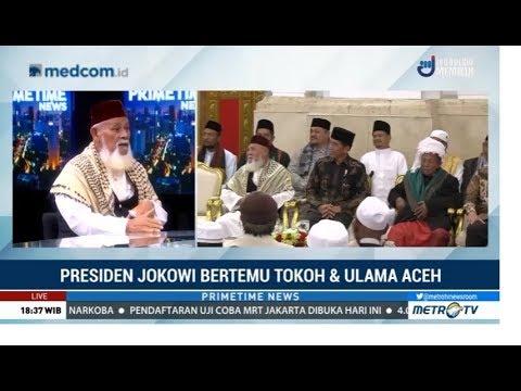 Alasan Ulama Dan Tokoh Aceh Temui Jokowi