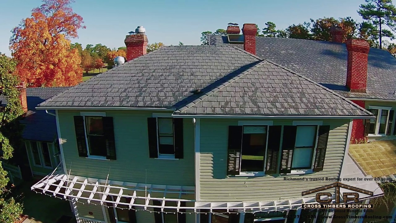 The Historic Bloemendaal House At, Lewis Ginter Botanical Gardens. Cross  Timbers Roofing