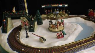 Mr Christmas - GOING HOME FOR THE HOLIDAYS Train Set Video