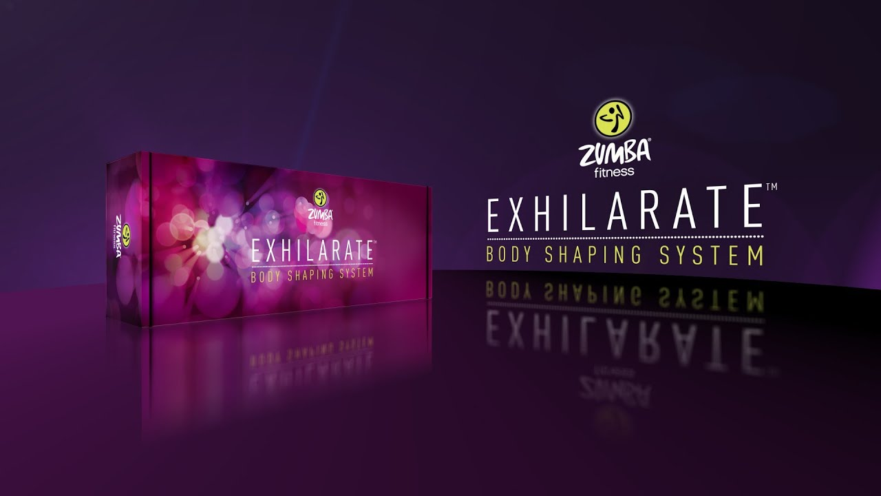 Zumba Exhilarate Body Shaping System - 4 Dvd Set