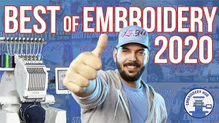 Best of Embroidery Hub 2020 Embroidery Hub End of Year Special