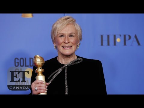 Glenn Close Talks 'The Wife' Backstage