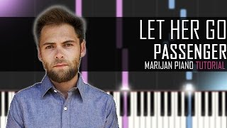 How To Play: Passenger - Let Her Go | Piano Tutorial Mp3