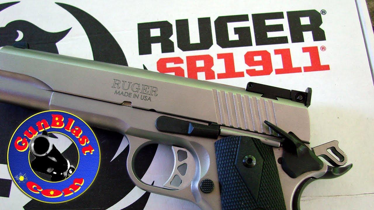 Ruger's NEW SR1911 Semi-Auto 10mm Pistol