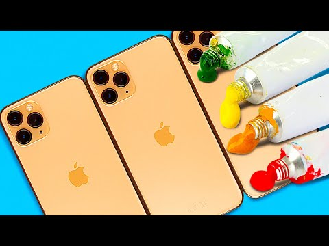 36 EASY WAYS TO CUSTOMIZE YOUR PHONE || GADGET HACKS AND DIYs