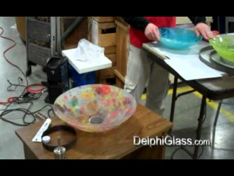 How To Make A Fused Glass Sink | Delphi Glass