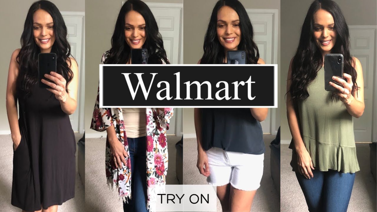 WALMART SUMMER 2019 HAUL TRY ON | 7 OUTFITS UNDER $150 1