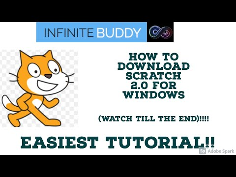 How to Download Scratch 2.0 Offline editor 2021 for Windows!!   Infinite Buddy