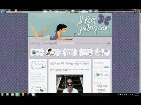 LeeLou Custom Blogger Blog or Customized YouTube Channel or Facebook Timeline