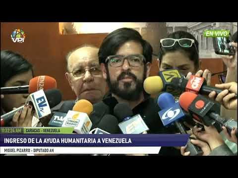 Venezuela- Ingreso de ayuda humanitaria- VPItv